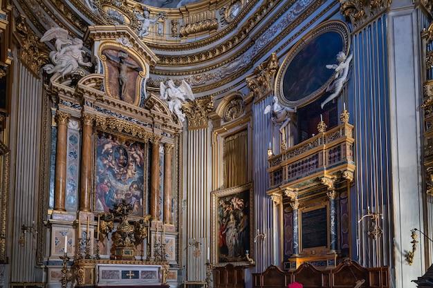 Santa maria em vallicella ou chiesa nuova, uma igreja em roma, itália