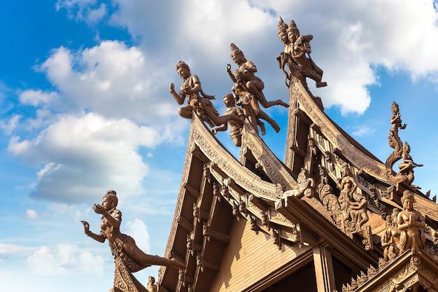 Santuário da verdade em pattaya