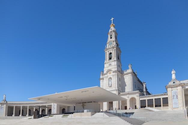 Santuário de fátima em portugal.