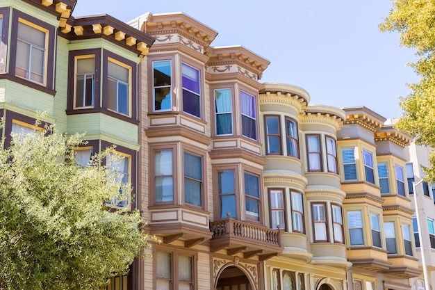 São francisco casas vitorianas califórnia