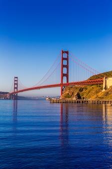 São francisco, ponte dourada portão, califórnia