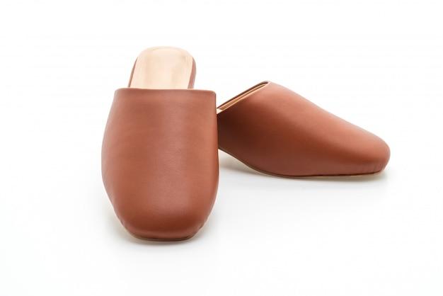 Sapato de couro de moda mulher
