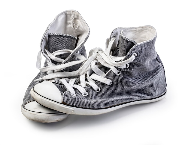 Sapato de lona. isolado
