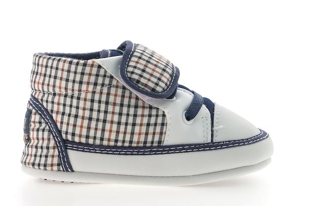 Sapato dois fundo criança branca