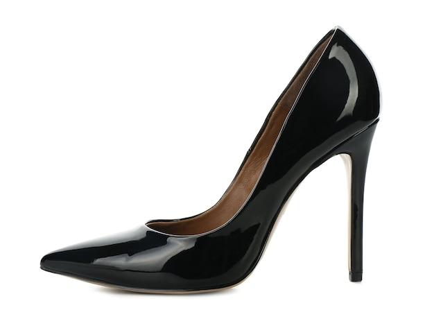 Sapato feminino elegante em branco
