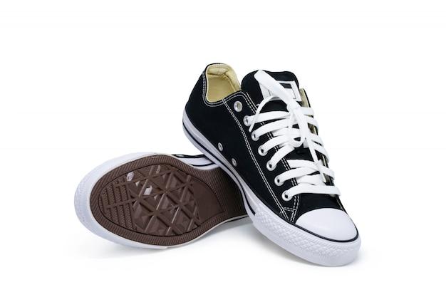 Sapato isolado, di corte com traçado de recorte em branco