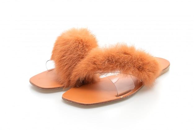 Sapatos da moda mulher ou sandálias