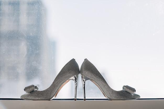 Sapatos de casamento elegante