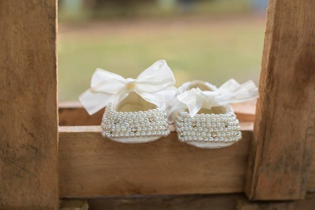 Sapatos de menina - batismo