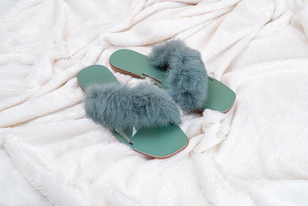 Sapatos de moda mulher bonita