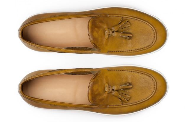 Sapatos femininos. vista do topo.