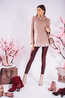 Sapatos moda feminina