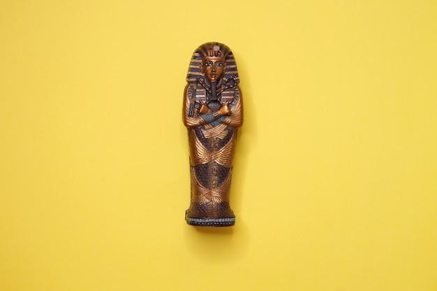 Sarcófago do faraão tutankhamon do egito antigo