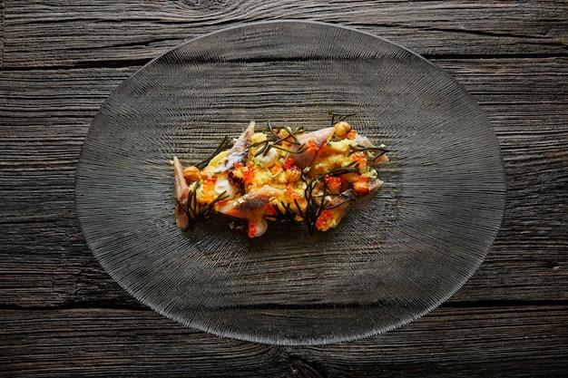Sardinha salada cremosa queijo milho codium