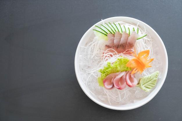 Sashimi de atum de barbatana amarela