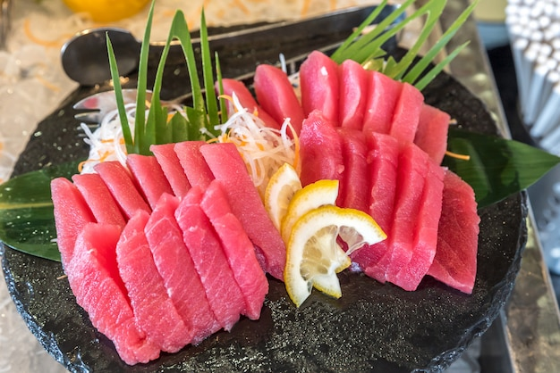 Sashimi de atum otoro