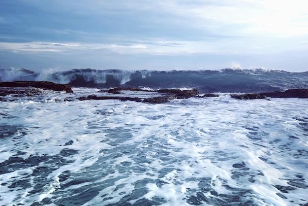 Sawarna rocky beach