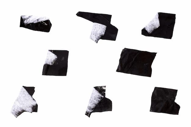 Scotch preto isolado em um fundo branco