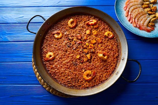 Seafood paella senyoret arroz da espanha