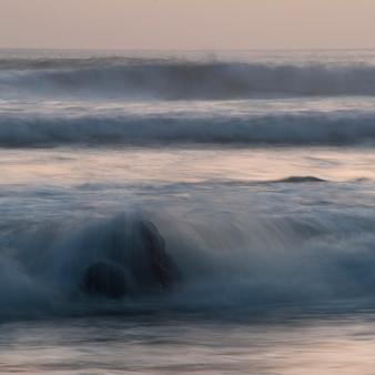 Seascape ao largo da costa da costa rica