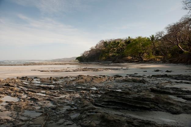 Seascape ao longo da costa em san jose costa rica
