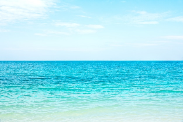 Seascape tropical