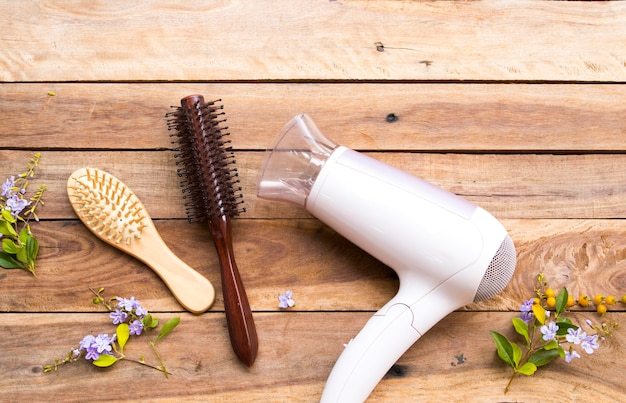 Secador pente beleza cuidados de saúde para cabelos de mulher estilo de vida