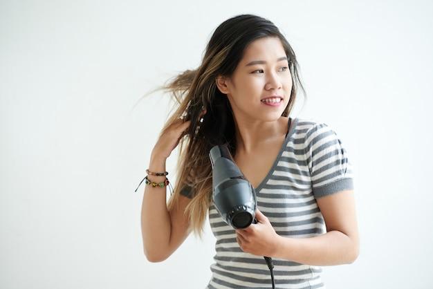 Secar o cabelo