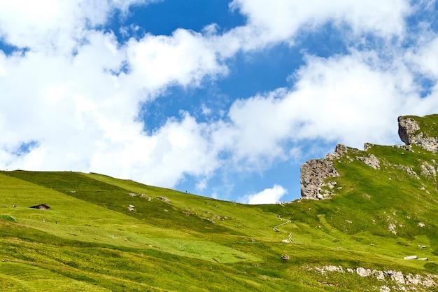 Seceda topo da montanha