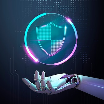 Segurança cibernética de ia, proteção contra vírus em aprendizado de máquina