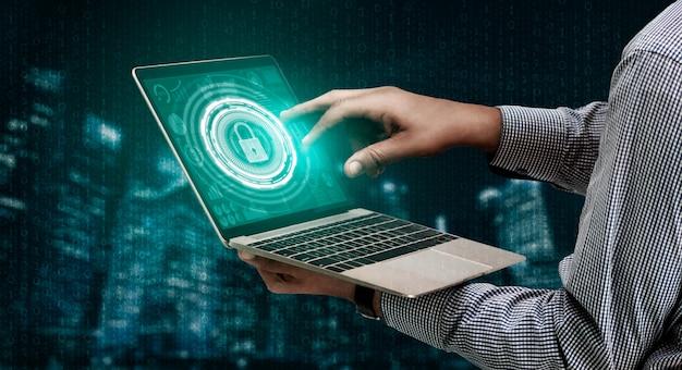 Segurança cibernética e proteção de dados digitais