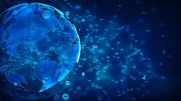 Segurança cibernética e proteção de rede de informações.