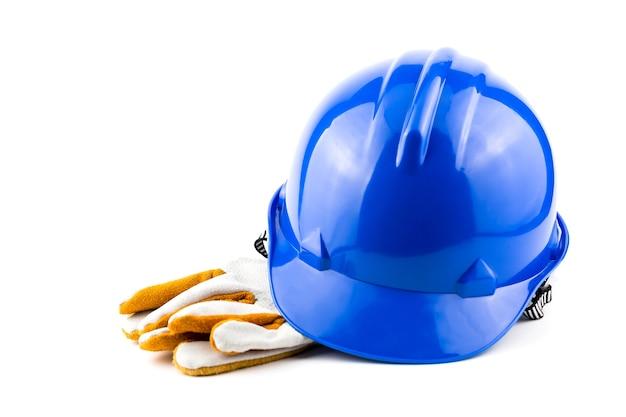 Segurança do capacete no local de trabalho.