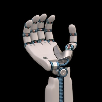 Segurando o robô