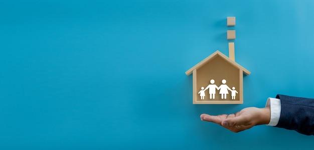 Seguro e propriedade de minha casa cobertura propriedade acidente de proteção residencial invista e morar