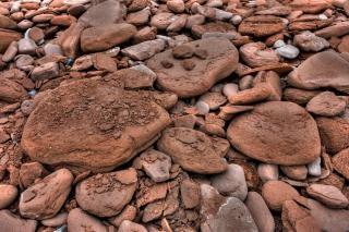 Seixos textura rochosos hdr