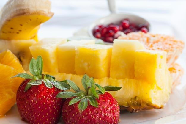 Seleção de frutas saborosos