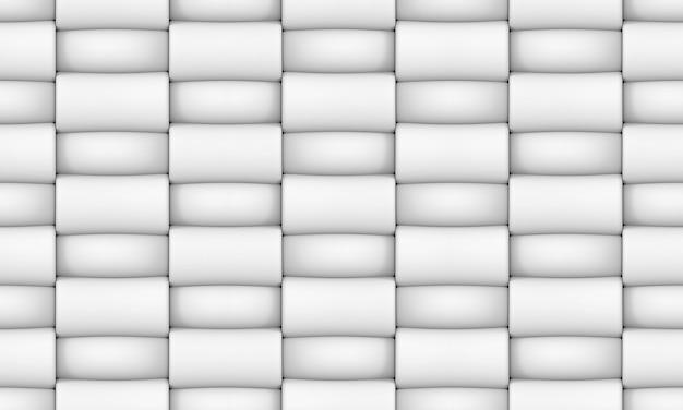 Sem costura moderna tecelagem branco forma ractangular fundo de tela
