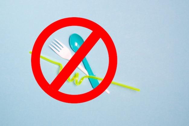 Sem plástico com colher