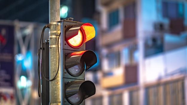 Semáforo vermelho