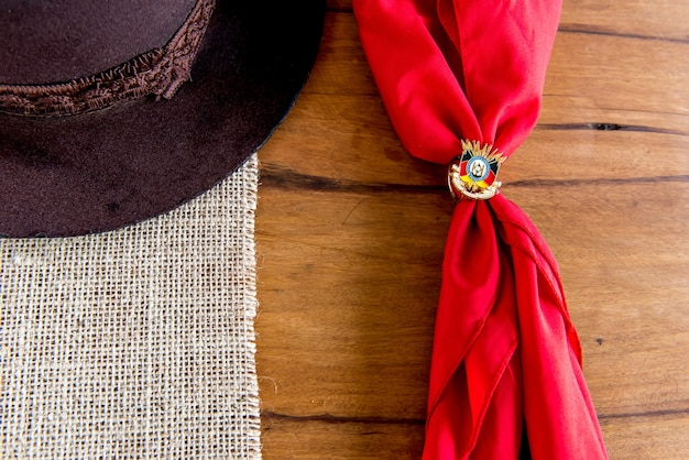 Semana tradicional do sul do brasil. semana farroupilha dos gaúchos.