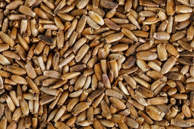 Sementes de pássaros, alimentos granulados misturados para canários e periquitos