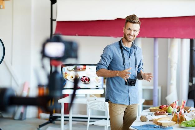 Seminário de fotografia de alimentos