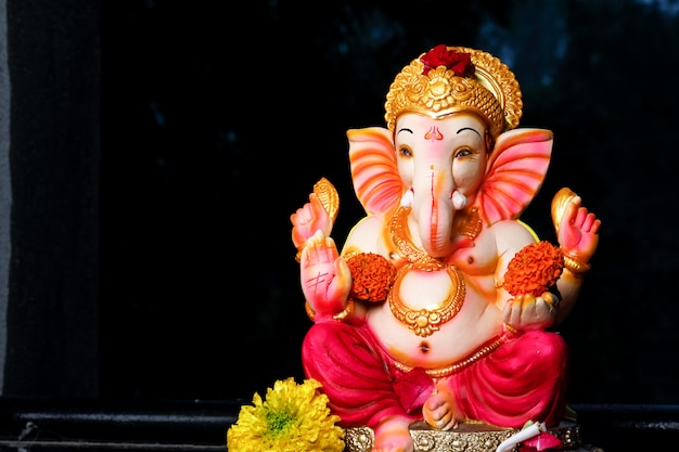 Senhor ganesha, festival indiano de ganesh