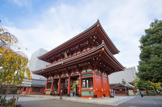 Sensoji um famoso templo antigo