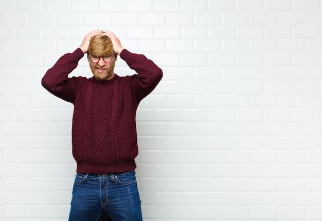 Sentindo-se frustrado e irritado, doente e cansado do fracasso, farto de tarefas chatas e chatas