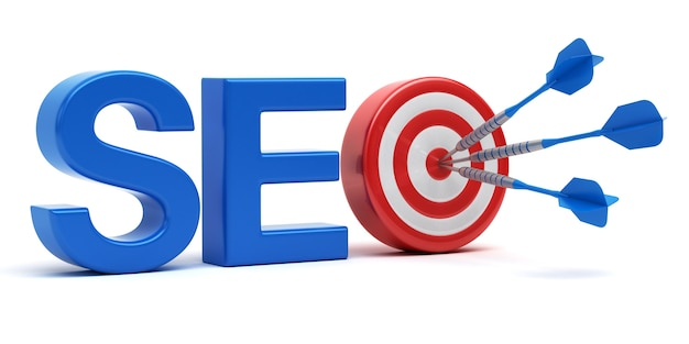 Seo bem-sucedido. conceito de search engine optimization