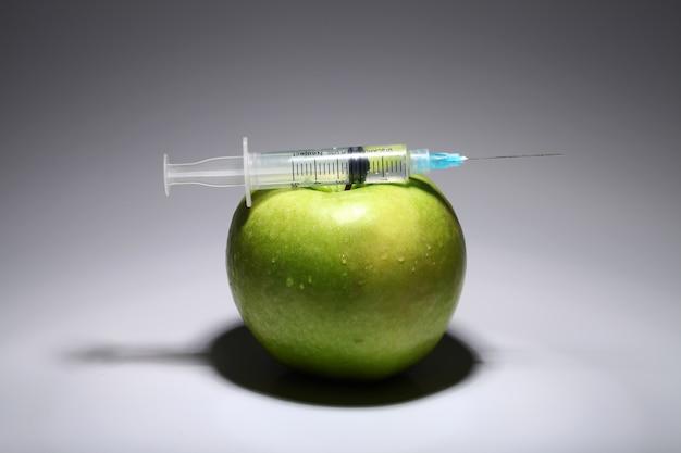 Seringa e maçã verde