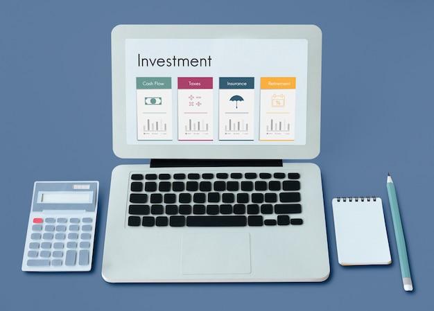 Serviço de aposentadoria de planejamento financeiro