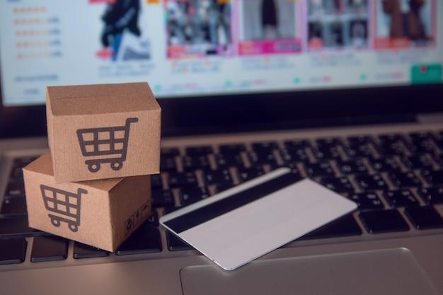 Serviço de compras na web online.